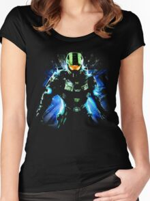 Halo Life Women's Fitted Scoop T-Shirt