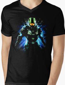 Halo Life Mens V-Neck T-Shirt