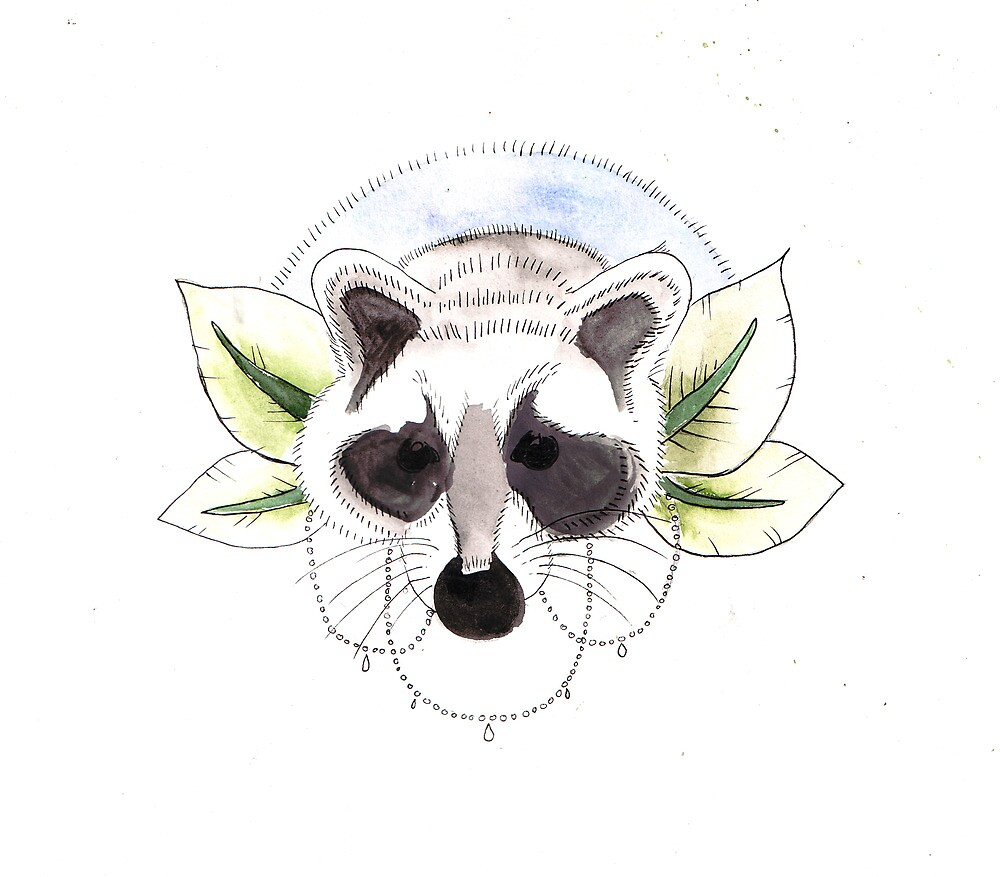 Racoon by FAITH IS NOT PROOF