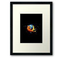 Firefox - Mozilla Framed Print