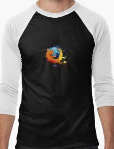 Firefox - Mozilla Men's Baseball ¾ T-Shirt