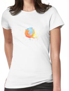 Firefox - Mozilla Womens Fitted T-Shirt