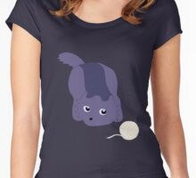 Catball & Yarn Women's Fitted Scoop T-Shirt
