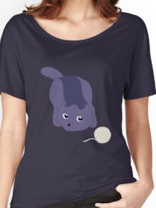 Catball & Yarn Women's Relaxed Fit T-Shirt