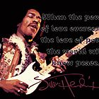 Jimi Hendrix - Love of Power Quote by SkinnyJoe