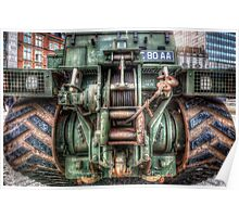 Royal Army Bulldozer Poster