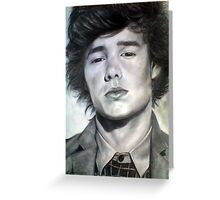 One Direction Liam Payne Original Pencil Drawing Greeting Card