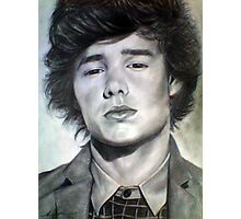 One Direction Liam Payne Original Pencil Drawing Photographic Print