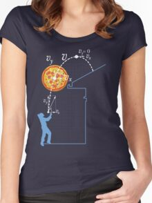 Breaking Bad Pizza Toss Women's Fitted Scoop T-Shirt