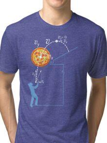 Breaking Bad Pizza Toss Tri-blend T-Shirt
