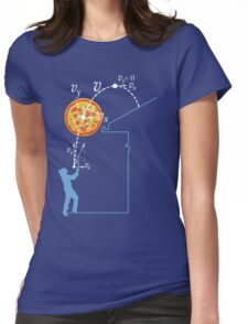 Breaking Bad Pizza Toss Womens Fitted T-Shirt
