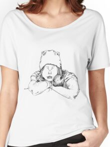 Beanie  Women's Relaxed Fit T-Shirt