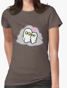 Ghostly Romance Womens Fitted T-Shirt