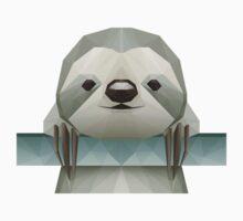 Polygonal Sloth Kids Clothes