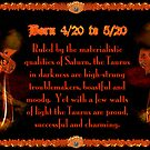 Valxart Gothic Taurus zodiac astrology  Born 4/20 to 5/20  by Valxart