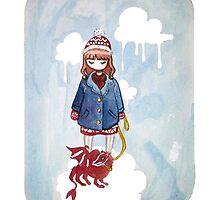 Pet Dragon by Zosia Gabriela Bartosik