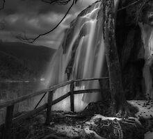Plitvice B/W by Ivan  Prebeg