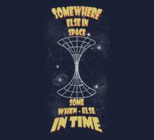 Through the wormhole Kids Tee