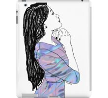 Hologram Gal iPad Case/Skin