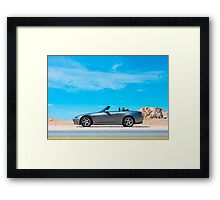 S2000 in the beautiful California Sun Framed Print