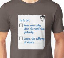 To Do List Unisex T-Shirt