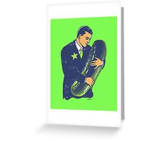 Hold The Pickle - American Oddities #3 Greeting Card