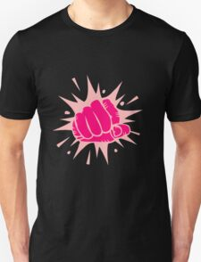 A Comic Book Style Clenched Fist T-Shirt