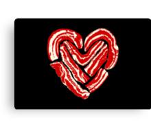 Bacon Heart Canvas Print