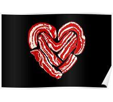 Bacon Heart Poster