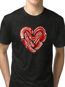 Bacon Heart Tri-blend T-Shirt
