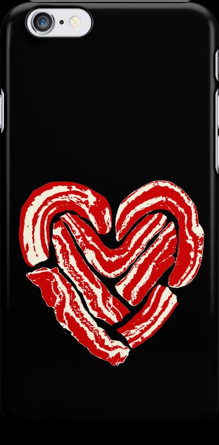 Bacon Heart by JDBee