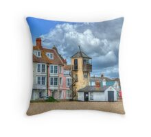 South Lookout Tower Aldeburgh Throw Pillow