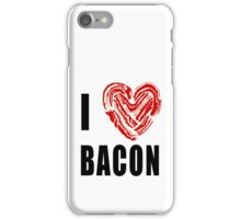 I Love Bacon iPhone Case/Skin
