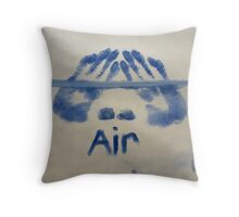 Air (It's All Elementary) Throw Pillow