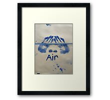 Air (It's All Elementary) Framed Print