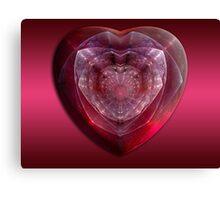Gem Of A Heart Canvas Print