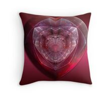 Gem Of A Heart Throw Pillow