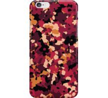Floral Mirage - Red iPhone Case/Skin