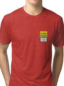 Amber Leaf Box Tri-blend T-Shirt