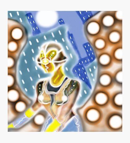 Futuristic Smooth Robot Photographic Print