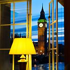 London at night by eyeone