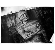 Standing Buddha Poster