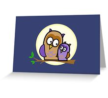 Owl Pals Greeting Card