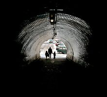 Vítkov Hill tunnel. by EZeemering