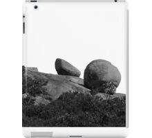 Boulders Under A Perfect Sky iPad Case/Skin