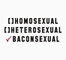 Baconsexual by msnenaface