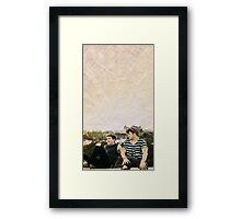 Kian and JC Framed Print