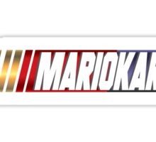 Mariokart Sticker