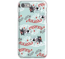 French Kiss {Pattern} iPhone Case/Skin