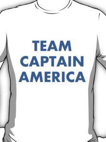 Team Captain America. T-Shirt